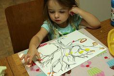 Preschool Painting.