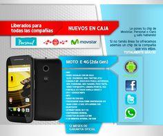 Motorola Moto E 4g Lte * Nuevos * Libres * Gtia * Tope Cel - $ 3.199,99 en MercadoLibre