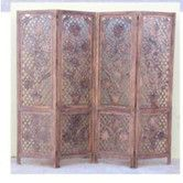 """Found it at Wayfair Supply - 72"""" x 80"""" Carved Screen Sunflower 4 Panel Room Divider"""