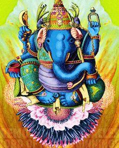 few lines on lord ganesha