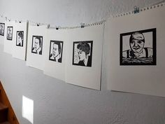 Finally printed some of these I've been working on. But I missed one block I had finished but got buried. The is killing me I want to see how it came out. I might need to again tonight. Linoprint, Thats Not My, Photo Wall, Things To Come, It Is Finished, Portraits, Printed, Frame, Art
