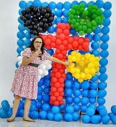 Amei essa idéia. Explorando a Mensagem de Salvação através de balões.  Perfeito…