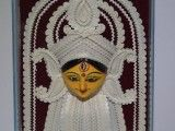 Shola Decoration Clay Durga