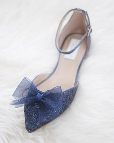 0bc1486640 7 Best Navy Wedding Shoes images | Bridal gowns, Bridal heels ...