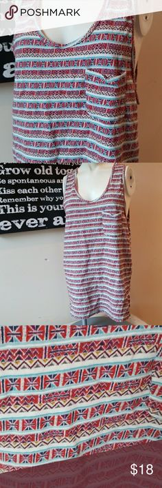 💋3/$24💋KOTO BOHO HIPPIE TANK Excellent condition.   💋3 for $24💋 BUNDLE any 3 items (listed 3 for $24), IGNORE the bundle price & OFFER $24 🌺See mannequin listing for size reference.   Also CHECK OUT my 🦄3 for $15🦄, ⚘3 for $50⚘ & ♥️10 for $10♥️ sale!  Why SHOP MY Closet? 💋Smoke/ Pet Free 💋OVER 1000 🌟🌟🌟🌟🌟RATINGS 💋POSH AMBASSADOR &TOP 10% Seller  💋TOP RATED 💋 FAST SHIPPER  💋BUNDLES DISCOUNT 💋EARN VIP DOLLARS W/ EVERY PURCHASE ❤HAPPY POSHING!!! 💕 koto Tops Tank Tops
