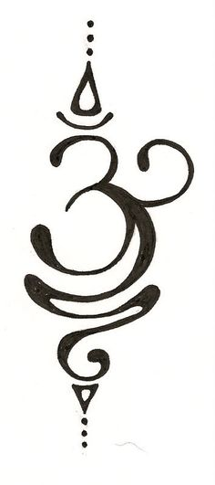 OM Original Tattoo Design by silverwingstattoos on Etsy; I want to do this on a t-shirt.
