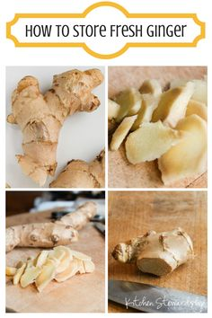The secret to storing fresh ginger so you can grate it without all that stringy mess! Have real ginger with all its incredible health benefits on hand whenever you need it :: via Kitchen Stewardship