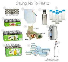Saying No to Plastics: 10 Ways we're moving toward a BPA-free lifestyle!
