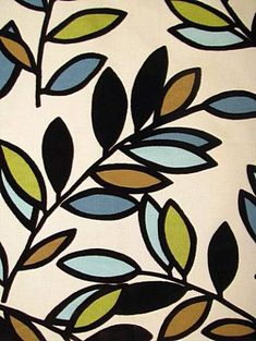 Curtain Stencil Idea    Google Image Result for http://1.bp.blogspot.com/_5cGUJGDFsAc/TIJ2t9W5CCI/AAAAAAAAAVI/DR0-9MdyiHM/s1600/leaf%2Bfabric.jpg