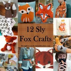 X is for foX Creativi-bee:  12 Sly Fox Crafts