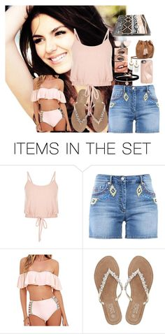 """""""Roxy at the beach (Free Rp) - HOS"""" by mysterious-gal ❤ liked on Polyvore featuring art"""