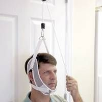 Show details for NeckPro Cervical Traction Device Neck And Back Pain, Neck Pain, Disk Herniation, Radiculopathy, Door Brackets, Neck Injury, Neck Exercises, Heavy Weights, Double Chin