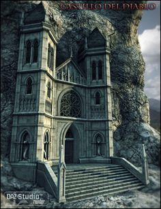 Castillo del Diablo in Vendor, Jack Tomalin, 3D Models by Daz 3D