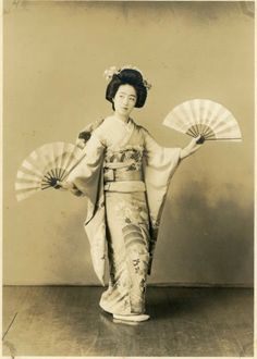 Vintage Photo Beautiful Geisha Photography Paper by dawnandross, $60.00