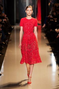 Elie Saab Spring 2013 Couture #red