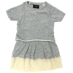 Finger in th Nose Grey Bleached Dress #ladida #ladidakids ladida.com