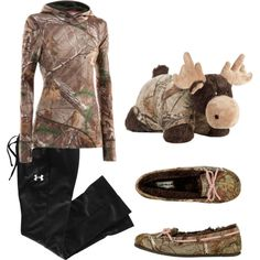 """Lazy day camo"" by bullridingirl on Polyvore"