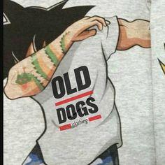 SONGOKU DAB www.olddogs.es  Songoku se pone al día y se apunta a Old Dogs  #olddogs #songoku #dragonball #clothing #streetwear #streetstyle #odcworlddomination #dab #dabit #odcCREAM #hiphop #rap #goku #hypebeast