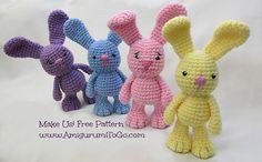 Little Bigfoot Bunny: free pattern