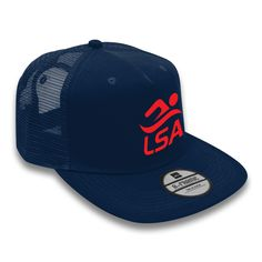 6abb05fa046 New Lifesaving SA branded adjustable trucker cap featuring embroidered LSA  branded logo along with a flat peak!