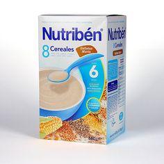 160700 Nutriben 8 Cereales con Galleta María - 600 gr.