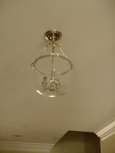 Foyer Lighting LovE this in the silvery finish