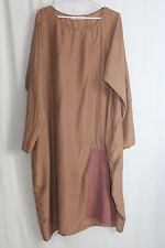 cocon.commerz PRIVATSACHEN DORNWETCHEN Kleid aus Seide in orange Gr. 2