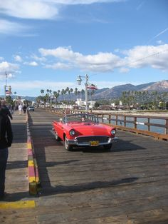 Stearns Wharf in Santa Barbara is the perfect place to spend the day!