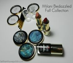 Milani Bedazzled Fall 2014 Collection Swatches and Mini Review