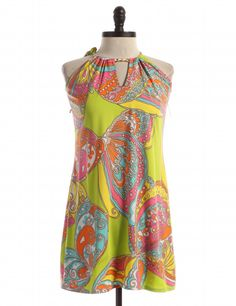 Tank by Trina Turk - Size S - $67.95 (originally priced at $274.95!) on LikeTwice.com. Who says you can't wear loud summer colors straight into fall? Pair it with a dark blazer, tailored pants, and heeled booties any time of the year.