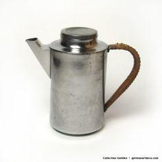 Collection Soehlke   Forge Buchrucker UrsulaStürzenhofecker Coffee Can 1965 Modernism Metal   Tea & Coffee