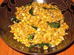yellow-lentil salad
