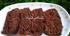 Resep Brownie Banana Oat Steam Cake favorit. Lagi demen aja sama oat. Jadi bikin variasi cake biar gak bosan. Kali ini pake pisang.