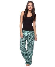 Cami & Leopard Flannel PJ Set - StyleSays