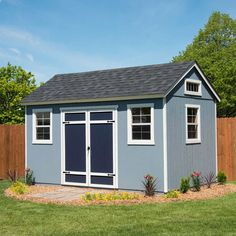 How To Build A Wood Shed - The Options For Effortless Backyard Shed Plans Programs - Readeary Joseph Wood Storage Sheds, Garden Storage Shed, Wooden Sheds, Backyard Storage, Wood Shed Plans, Diy Shed Plans, Storage Shed Plans, Porch Plans, Diy Shed Kits