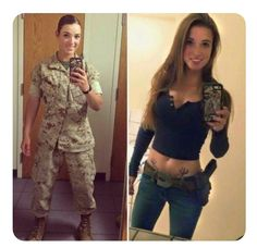 Here we share a new collection of ARMY WOMEN in and out of uniform. These are the 77 beautiful ARMY WOMEN looking gorgeous without uniform. Female Soldier, Army Soldier, Military Girl, Military Women, Girls Uniforms, Badass Women, Sexy Hot Girls, Looking For Women, Girl Photos