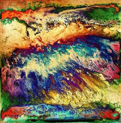 Wave of Color -  By Patty Sue O'Hair- Vicknair Artist
