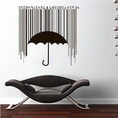 Shieldbrella Wall Decal & Cool Wall Decals From Trendy Wall Designs