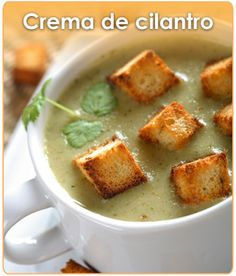 You either have the cilantro gene, or you don't! Mexican Food Recipes, Soup Recipes, Great Recipes, Vegan Recipes, Snack Recipes, Cooking Recipes, My Favorite Food, Favorite Recipes, Mexico Food
