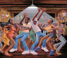 Today in Hip Hop History:Camp Lo released their debut album. Today in Hip Hop History: Camp Lo released their debut album Uptown Saturday Night January 28 1997 Hiphop, Ernie Barnes, Friday Music, Jazz Art, Hip Hop Albums, Rap Albums, Black Artwork, African American Art, African Art