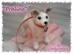 Custom Needle Felted Dog Portrait From Your Photos $150