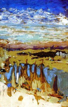 Le Pouliguen / Edouard Vuillard - circa 1908