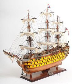 OMH - Old Modern Handicrafts Model Ships and Replica Boat Models
