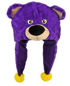 Los Angeles Lakers Mascot Themed Dangle Hat