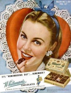 Remember Whitman's Valentine's Day Ad