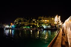 Ocean Key, Key West view from the pier at night | JHunter Photo