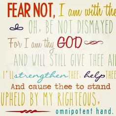 How Firm A Foundation-my favorite song and this is my favorite verse!
