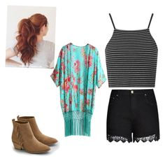 """""""Untitled #92"""" by sweatersandpigs on Polyvore featuring Topshop, City Chic and American Eagle Outfitters"""
