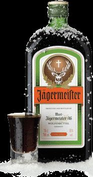 Jagermeister fuels us, fuels the office and probably makes our teeth hairy. We love it. Metal as fuck.