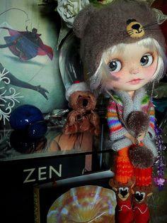 OOAK Lauren is up for Adoption - Blythe Custom doll. $650.00, via Etsy.